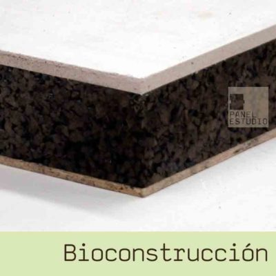 Bioconstrucción oxido de magnesio y corcho www.panelestudio.com