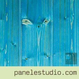 Acabado decorativo turquesa www.panelestudio.com