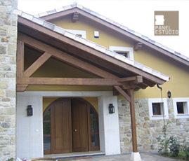 Estructuras de madera y obra nueva.