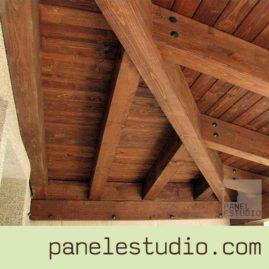 Estructuras de madera y panel sandwich de madera para cubierta. www.paneldecubierta.com
