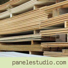 Friso de madera. Vigas y estructuras de madera