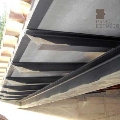 Funcionalidad del panel de madera para cubierta y tejado. www.panelestudio.com