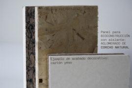Panel recomendado para Bioconstrucción con acabado decorativo cartón yeso (pladur, knauf o similar).