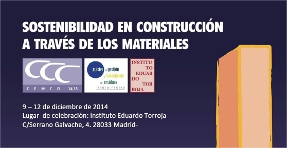 Sostenibilidd en construcción a través de los materiales.