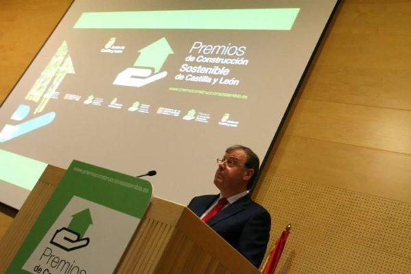 Acto de entrega de los Premios de Construcción Sostenible Castilla y León 2015.
