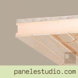 Panel sandwich de cubierta abeto XPS OSB3 calidad 3.