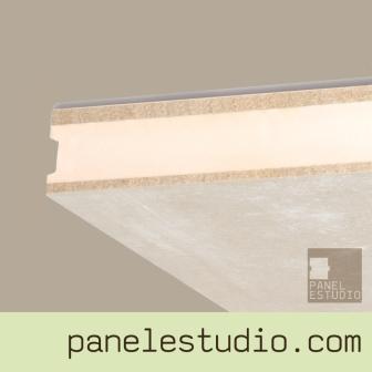 Panel sandwich de entreplanta y cubierta duplo cemento madera XPS panelestudio.com