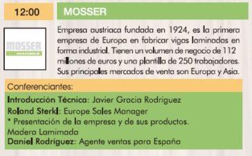 Mosser III Jornadas de la madera para construcción.