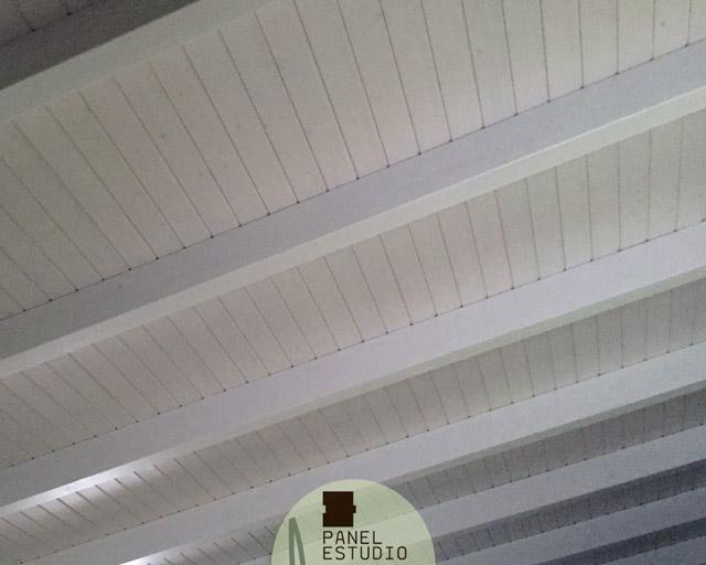 Friso aislante incorporado paneles sandwich de madera - Tejados de madera ...