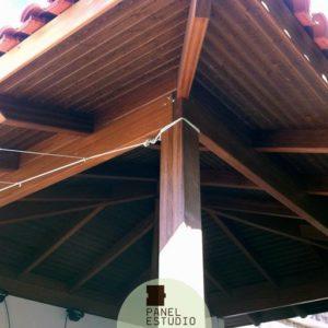 Precio m2 panel de madera para cubiertas y tejados Madrid.