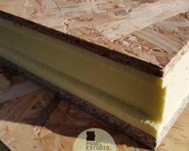 Panel sandwich OSB3.