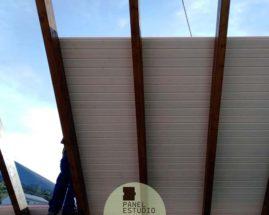 Montar panel sandwich en tejado.