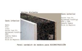 Panel de madera para bioconstrucción. www.panelestudio.com