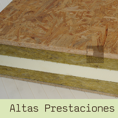 Panel de madera para cubierta triple aislamiento for Aislante para tejados