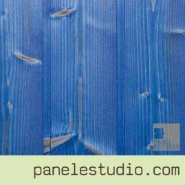 Acabado decorativo celeste. www.panelestudio.com