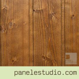 Acabado decorativo nogal tono 2 www.panelestudio.com