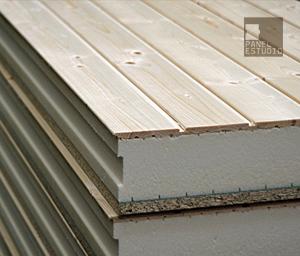 Estructuras de madera vigas montaje de cubiertas for Aislante para tejados