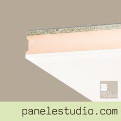 Panel sandwich de cubierta carton yeso XPS aglomerando hidrofugo panelestudio.com