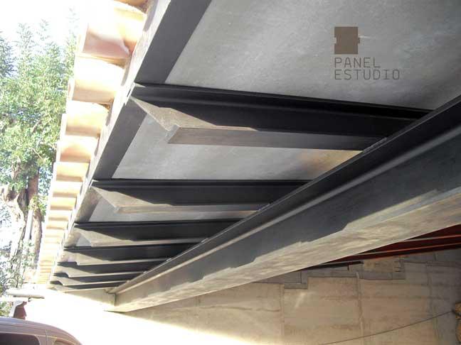 Funcionalidad del panel de madera para cubierta y tejado for Tejados de madera vista