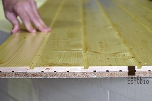 Nuevo panel de madera BICAPA para forjado perdido decorativo. www.panelestudio.com.