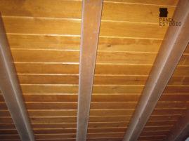 Rehabilitación con panel de madera TRICAPA para entreplanta aligerada con acabado decorativo. Entreplanta en vivienda.