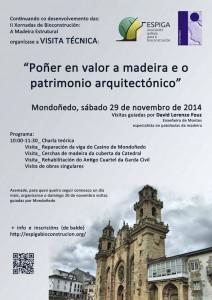 Bioconstrucción y madera. Asociación Gallega para la Bioconstrucción, ESPIGA. (29 noviembe 2014, Mondoñedo). www.panelestudio.com