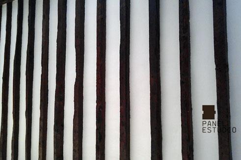 Panel Tricapa para entreplanta aligerada en acabado decorativo cartón yeso.