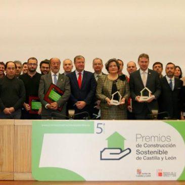 V Premios de Construcción Sostenible Junta de Castilla y León 2015.