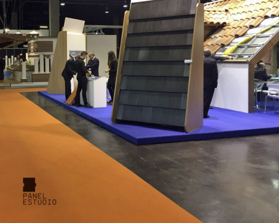 En Maderalia 2015.Feria profesional de la madera. Feria de Valencia.