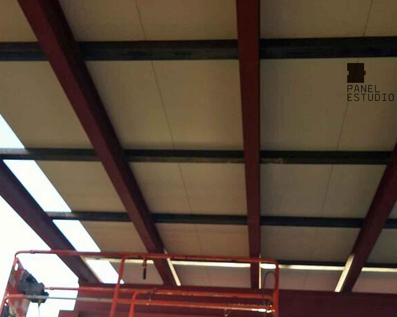 Cart n yeso paneles de madera para tejados y cubiertas - Estructura tejado madera ...