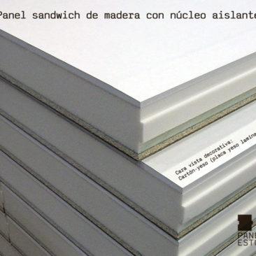 Panel de cubierta acabado decorativo placa de yeso laminado knauf PYL.