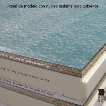 Techos de madera interiores en panel abeto paneles de - Tablero aglomerado hidrofugo ...