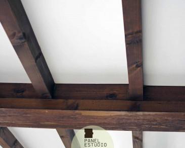 Cart n yeso paneles de madera para tejados y cubiertas - Placas decorativas para techos ...