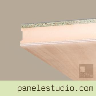 Panel sandwich de cubierta contrachapado fenolico XPS aglomerando hidrofugo. www.panelestudio.com