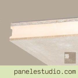 Panel sandwich de entreplanta y cubierta OSB3 XPS cemento madera.