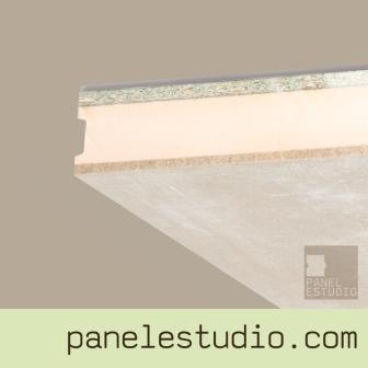 Panel sandwich de entreplanta y cubierta cemento madera XPS aglomerando hidrofugo panelestudio.com
