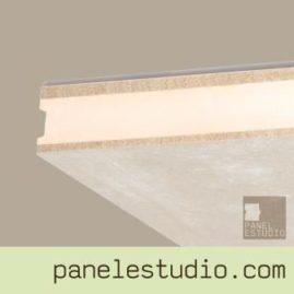 Panel sandwich de entreplanta y cubierta duplo cemento madera XPS.