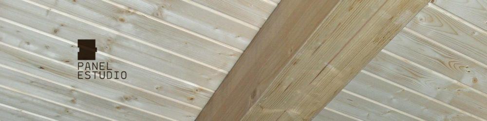 Panel de madera abeto sin barnizar.