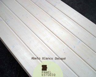 Friso abeto panel de madera para tejados y cubiertas for Panel sandwich aluminio blanco
