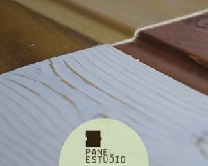 Acabado panel en madera natural Madrid.