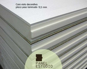 Panel sandwich aislante con pladur Madrid.