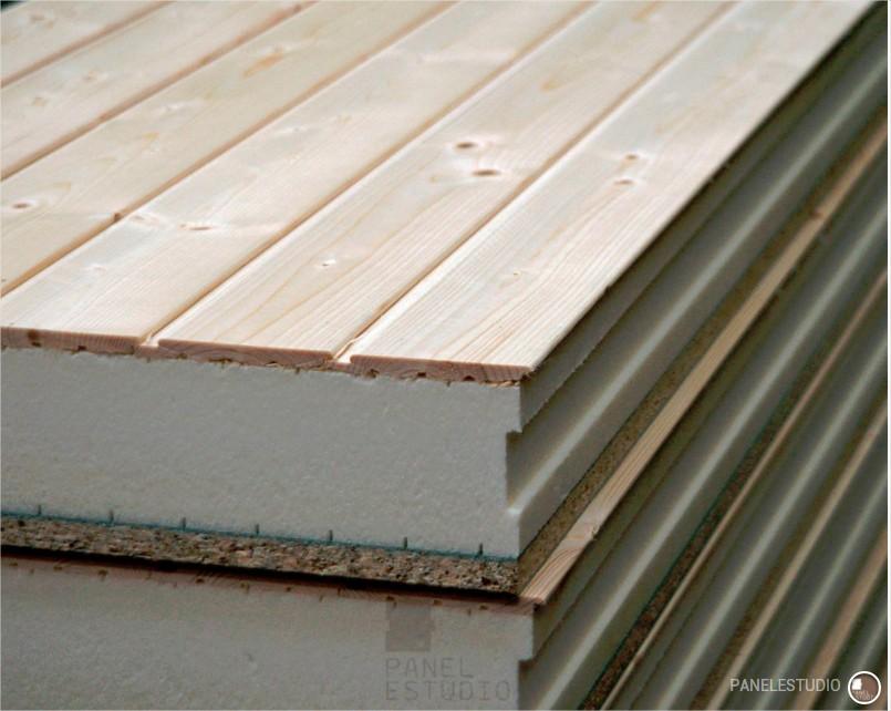 Dise ar mi casa con materiales aislantes paneles de madera con n cleo aislante - Madera aislante termico ...