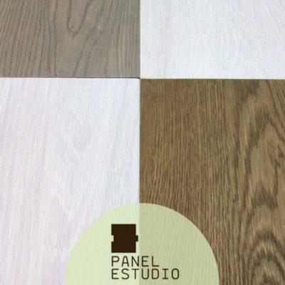 Acabado decorativo para panel de madera para cubierta.