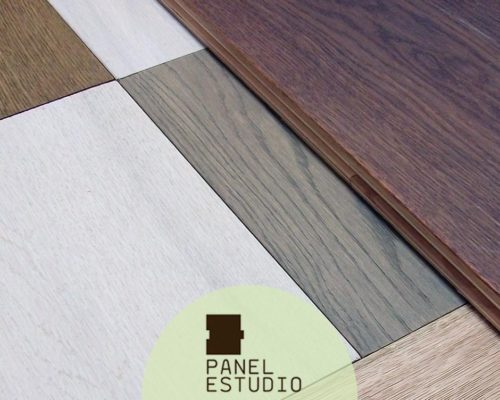 Acabados decorativos para panel de madera para cubierta.