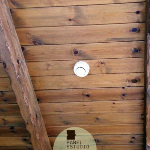 Decoración rústica moderna panel de madera para tejados Valladolid.