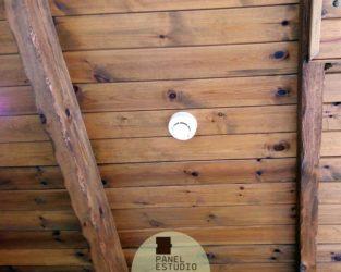 Friso abeto panel de madera para tejados y cubiertas for Tejados de madera valladolid
