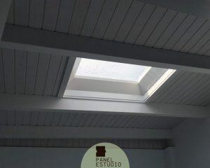 Madera panel para tejados y cubiertas paneles de madera - Material para tejados ...