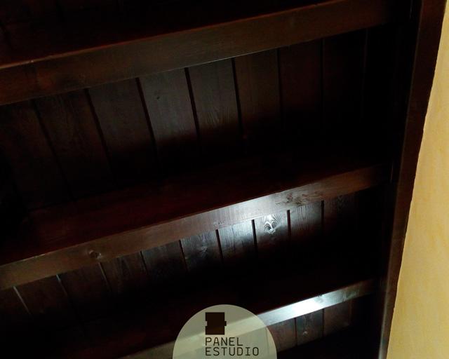 Techos de madera interiores en panel abeto paneles de - Techos de madera interiores ...