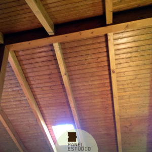 Precio panel sandwich de madera con núcleo aislante. Panel de madera interiores Madrid.