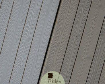 Friso BILAMA de abeto en panel de cubierta. Cubierta panel friso abeto.